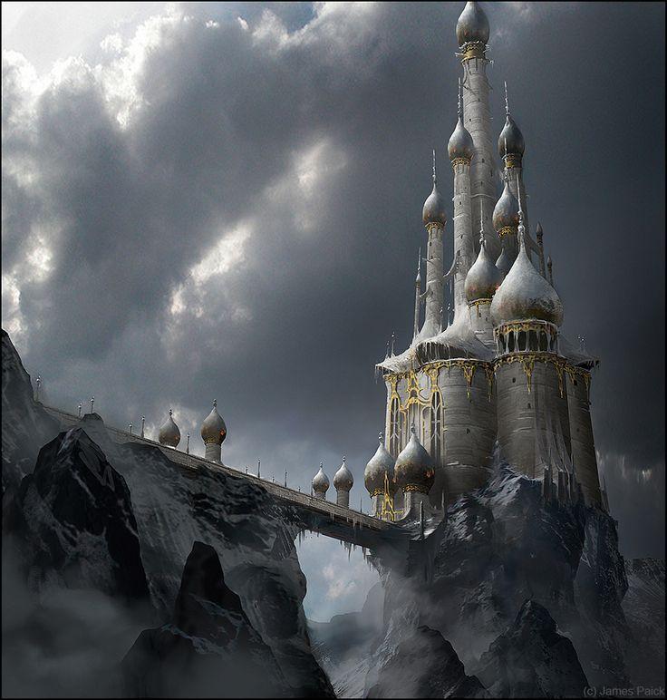 Snow White Castle, James Paick on ArtStation at http://www.artstation.com/artwork/snow-white-castle