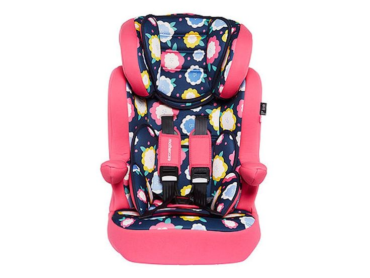 mothercare advance XP highback booster car seat - flowers