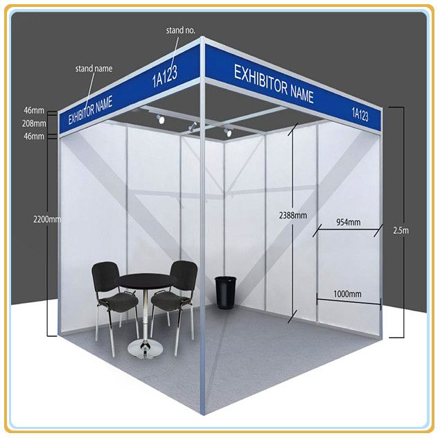 Certificated Canton Fair Standard Booth