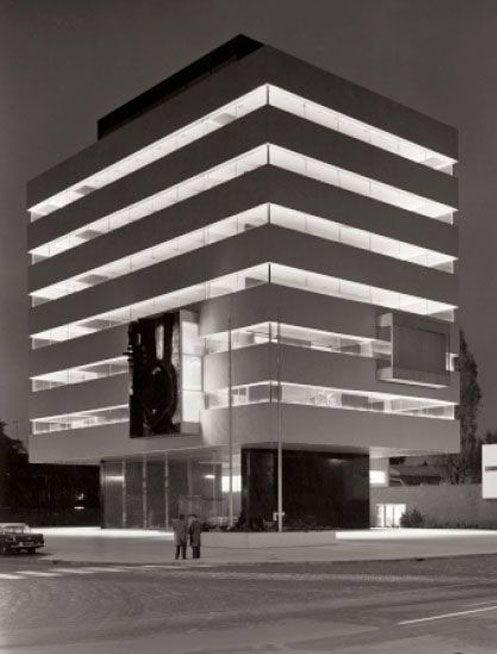 Tomadohuis - Dordrecht - Dutch architect H. A. Maaskant - 1963