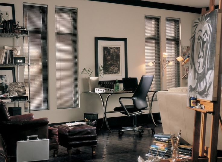 54 best Office Window Treatments images on Pinterest | Curtains ...