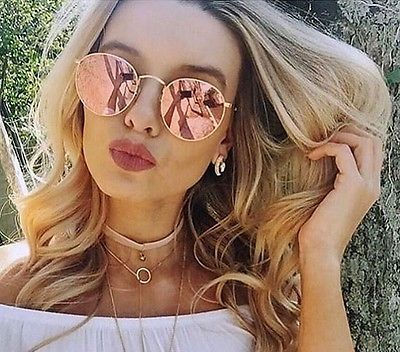 Image result for round metal ray ban gold with copper flash   Ray ... 8e01ce4518