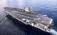 США направят вСредиземное море авианосцы из-завоенной активности России :: Политика :: РБК Авианосец военно-морских сил США «Гарри Трумэн»