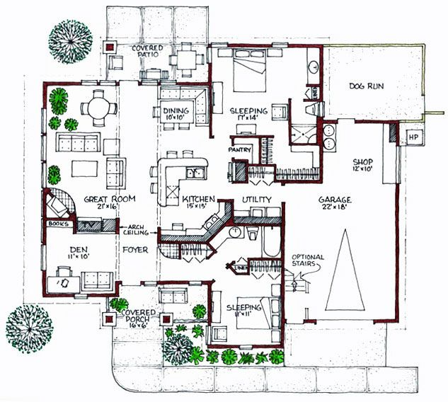 35 best modern floor plans images on pinterest | modern floor