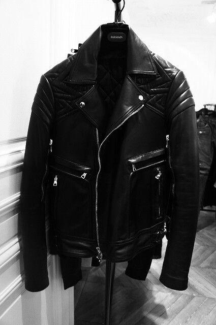 Mens leather jacket☻