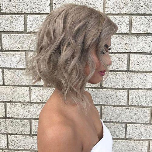 40 neue aschblonde Ideen für kurze Haare