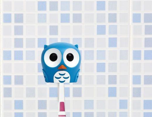 Uchwyt na szczoteczkę do zębów Sówka | Mynook