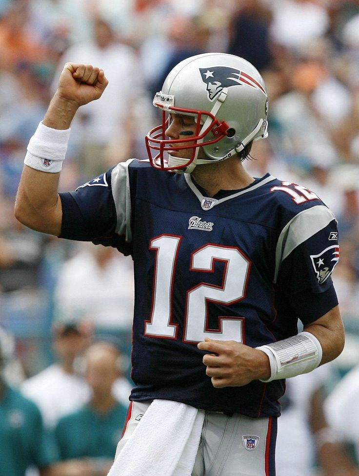 Tom Brady, one of the greatest quarterbacks in NFL history. #Patriots