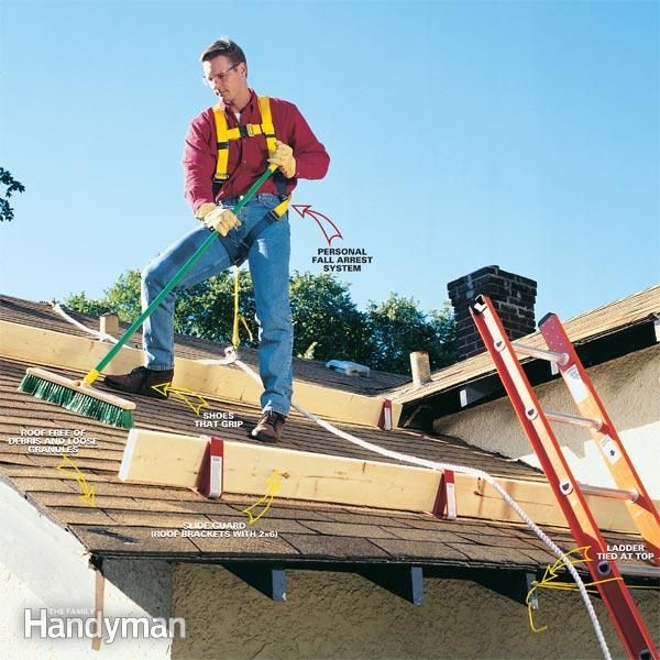 How To Properly Use A Roof Safety Harness Roof Safety Harness Roof Repair Roof Work