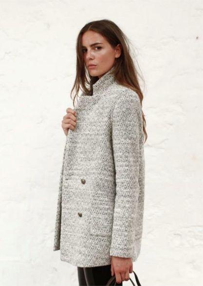 Sezane coat, fall 2013.