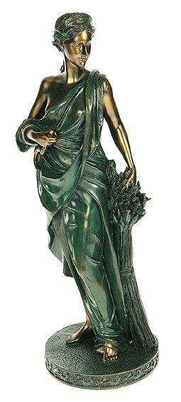 Греческая богиня плодородия и земледелия - Деметра