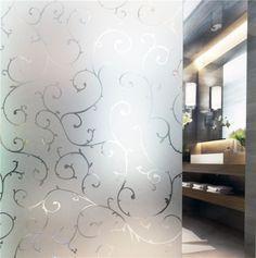 statische Fensterfolie Sichtschutzfolie Milchglasfolie Dekofolie selbstklebend | eBay