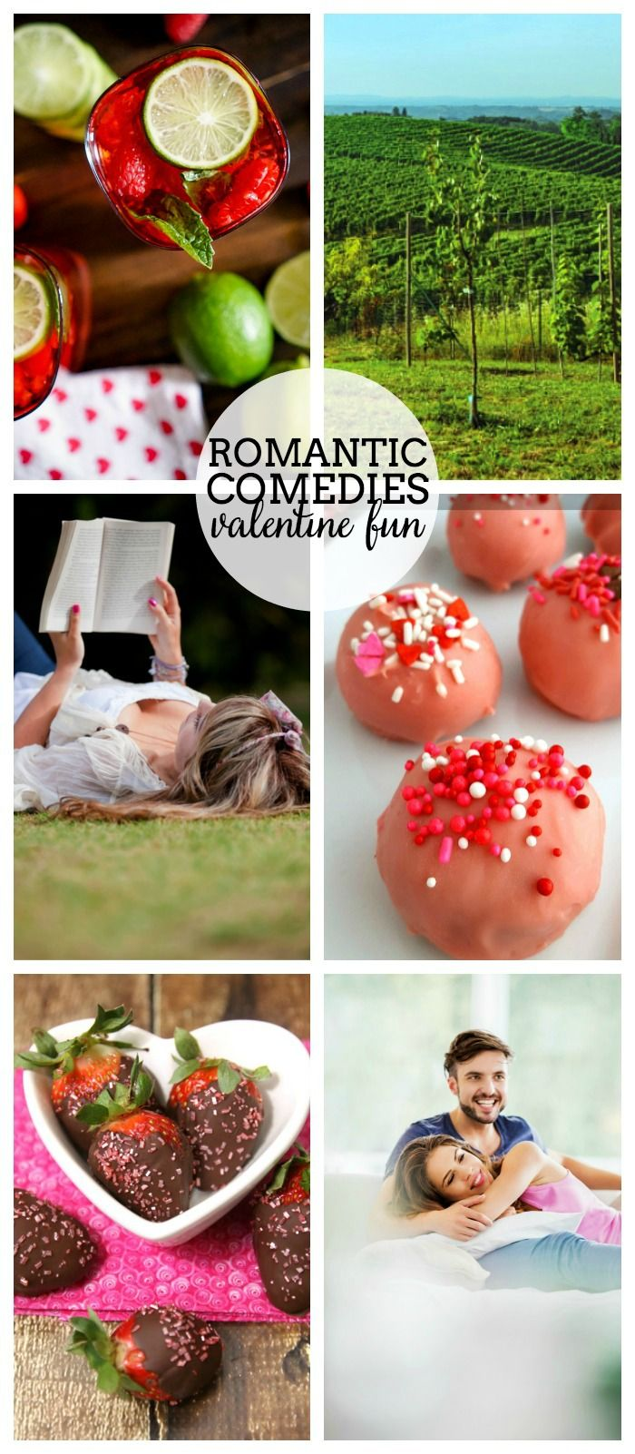 Celebrate your love of Romantic Comedies - These posts are inspired by your favorite romantic comedies and are perfect Valentine's Day ideas!