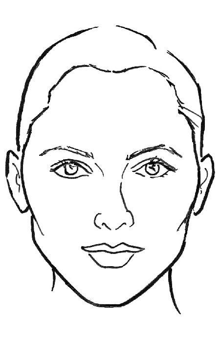 Картинка формы лица,