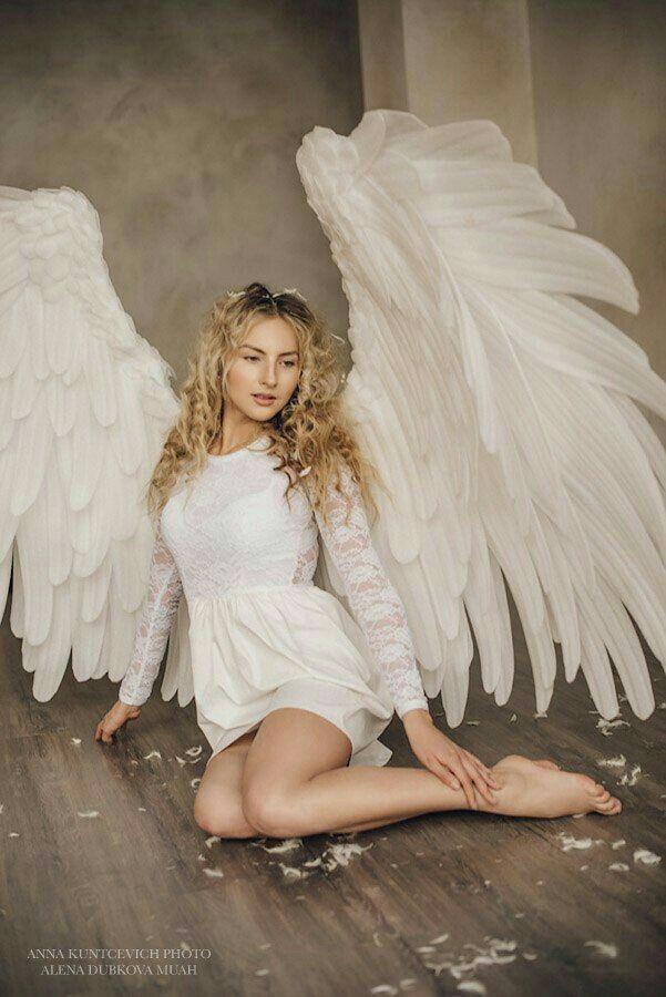 фотосессия в стиле ангела лишних