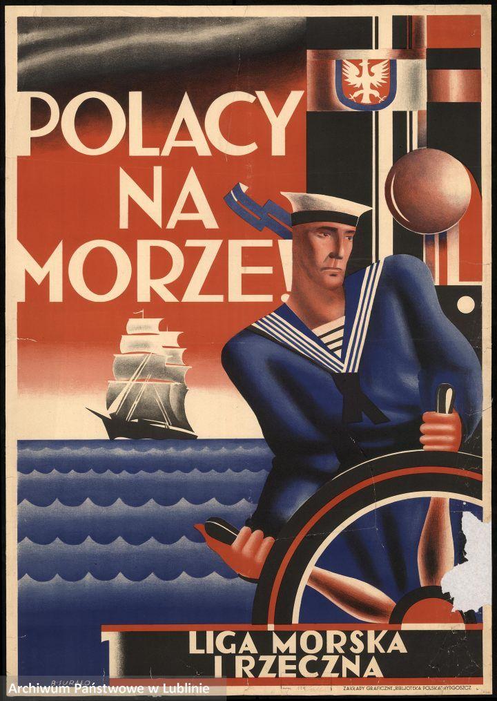 """""""Polacy na morze!"""", Bolesław Suraż, 1930,"""