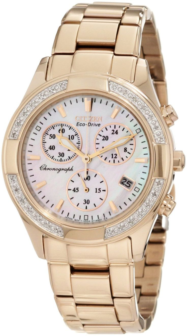 Citizen Women's FB1223-55D Regent Chronograph Eco-Drive Ladies' Watch * Check this awesome watch by going to the link at the image.