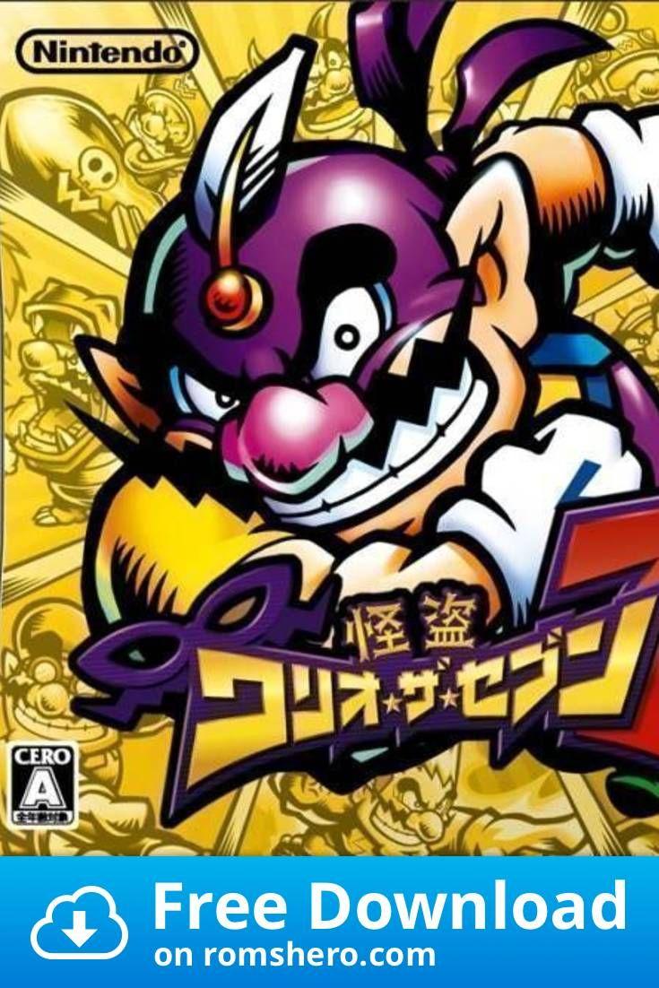 Download Kaitou Wario The Seven Nintendo Ds Nds Rom Nintendo Ds Nintendo Nds