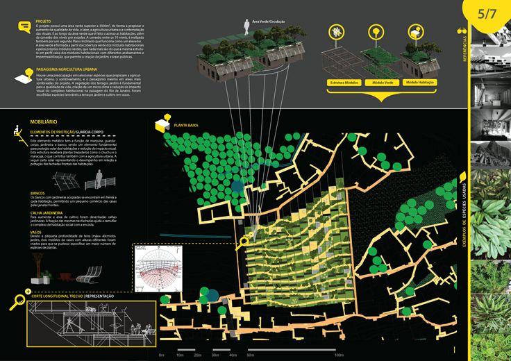 Criação(Design by):Guilherme Zuza. 5/7 - Desenvolvimento de Identidade Visual, Layout e Diagramação para Prancha de Arquitetura. Vencedora regional do concurso Opera Prima. Projeto Arquiteta Marcela Montalvão. Brasília-DF, Brasil.
