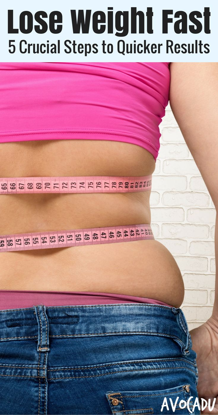 Yes, it is absolutely possible to lose weight fast - as much as 7+ lbs in a week, if you're following the right steps. Learn how at http://avocadu.com/how-to-lose-weight-fast/