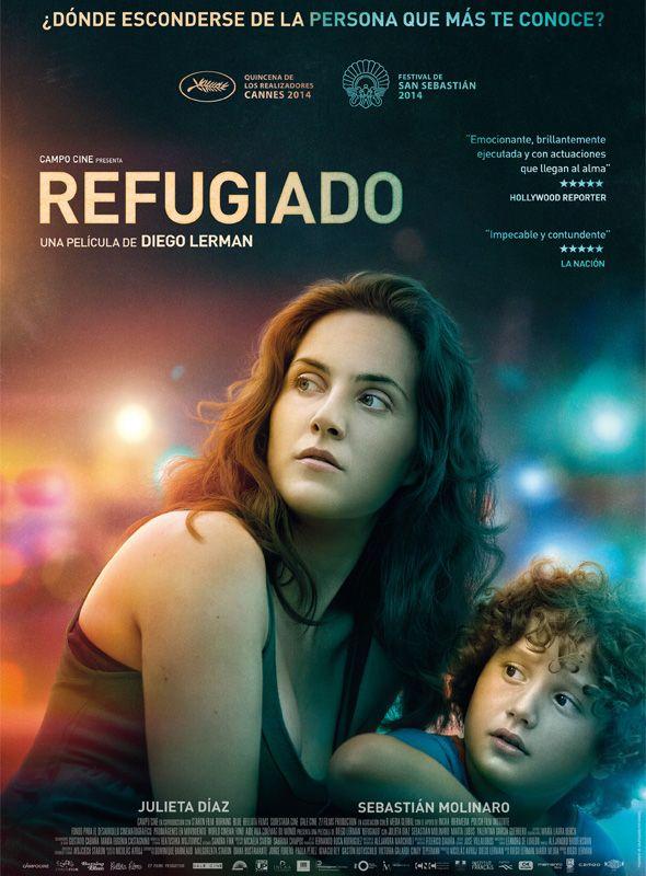 Póster de 'Refugiado', la última película de Diego Lerman.