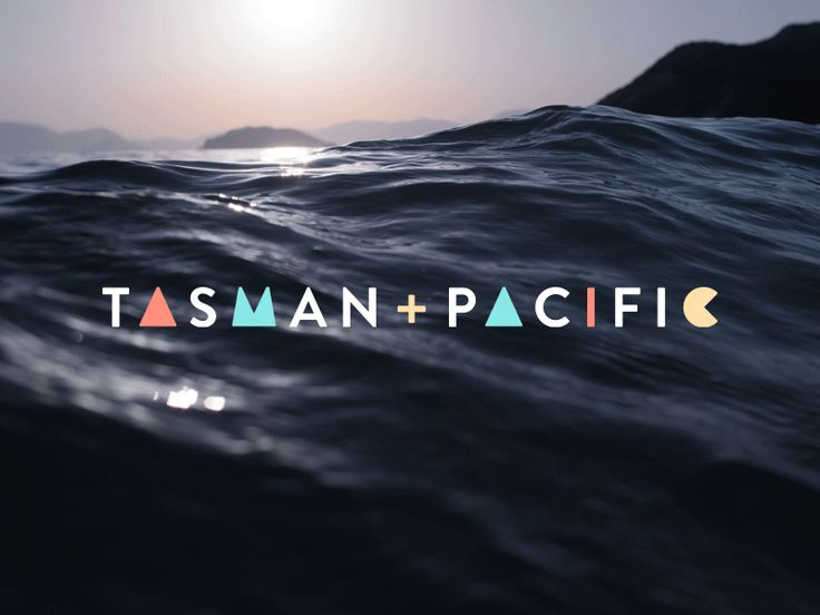 TasmanPacific logo animation