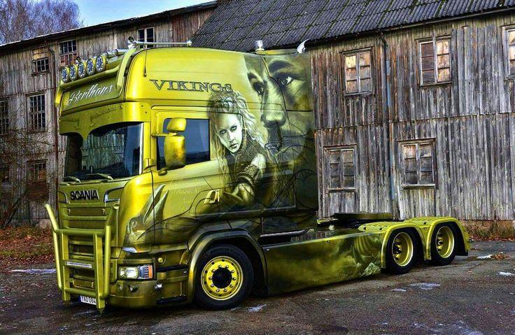 Pin by Oriana Deguara on Special paint trucks Trucks