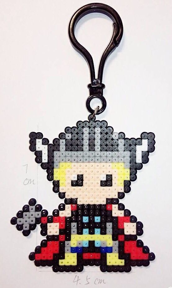 Marvel Heroes Hama Beads : Thor