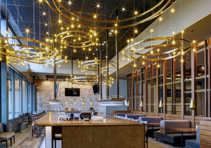 PF Chang restaurant in Laval by Aria Group Architects  Laval Canada