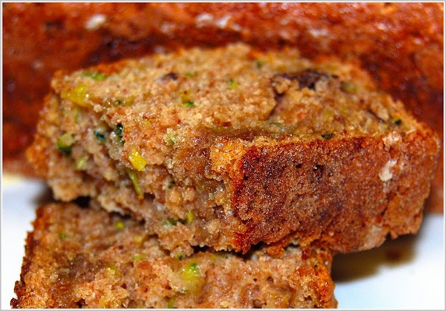 Low-Fat Zucchini Bread - Holy Cow!