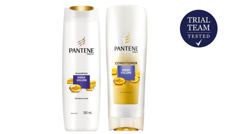 Pantene Sheer Volume Shampoo + Conditioner Reviews