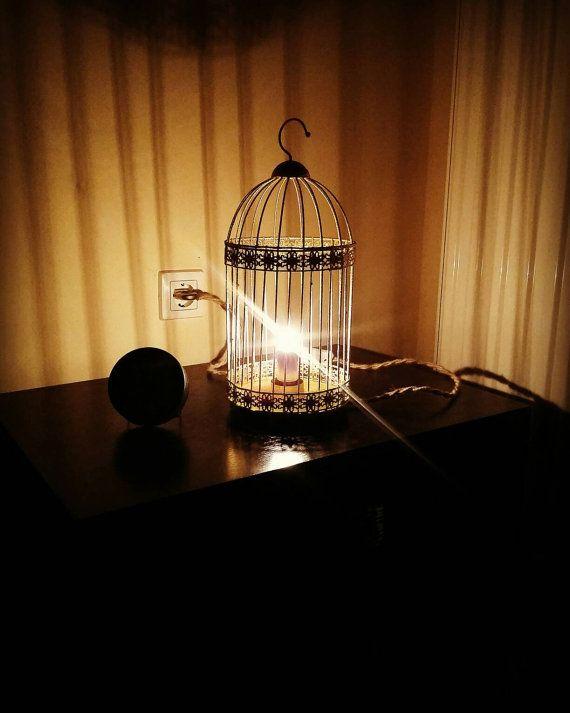Freedom lamp by NaturaLiciousShop on Etsy