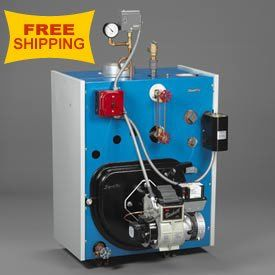 Slant-Fin Steam Oil-Fired Boiler Tr-30-Pz - 101,000 Btu Output  #HomeImprovement