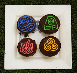 Avatar: The Last Airbender Cupcakes. I think I need to make these this year! :)