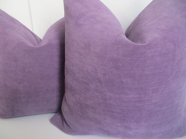 Solid Violeta, Decorative Pillows, Solid Purple Pillow, Lavender Pillow Covers,Chenille Woven Pillow, Solid Winston Violeta pillow by ClavelFashion on Etsy https://www.etsy.com/listing/155363786/solid-violeta-decorative-pillows-solid