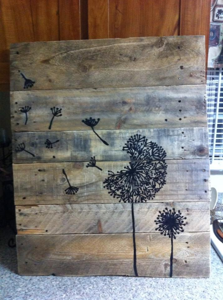 dandelion by FunkyJunkSalvation on Etsy, $25.00