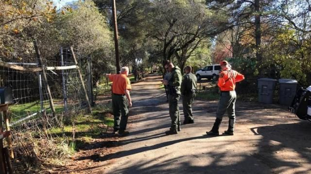 She wandered into a rugged canyon, and was found dead near a lion. It didn't kill her, cops say