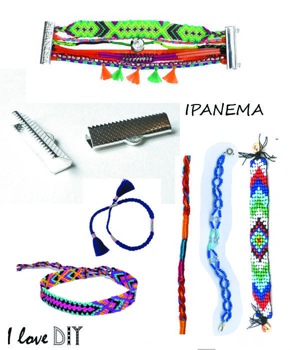 Create your own DIY IPANEMA bracelet