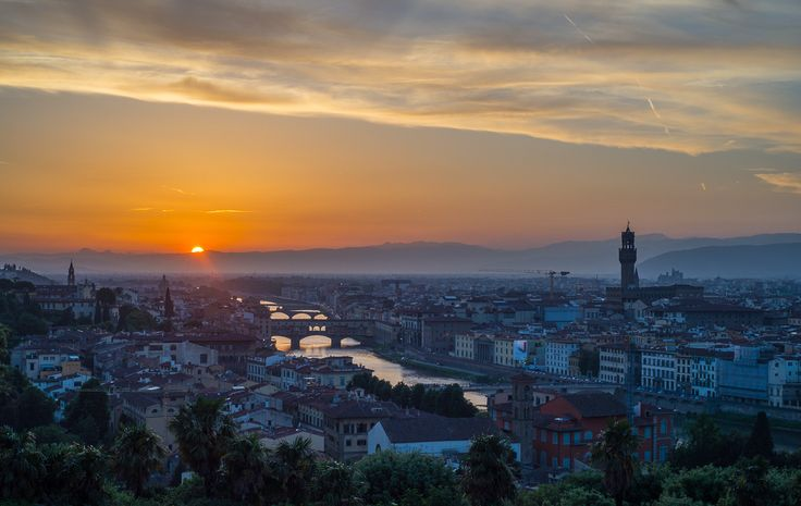 Sunset in Florence by Yiannis K. on 500px