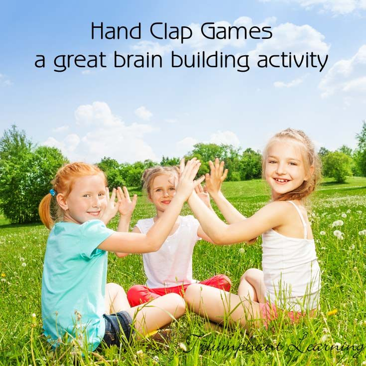 Hand Clap Games are a great brain building activity. It helps with pattern recognition, crossing the midline (for some patterns), and bilateral coordination. Below are some videos of hand clap games we have enjoyed. Sevens The Cup Game Bim Bum Hand Tic Tac Toe Slide Boom Snap Clap Cool Hand Beat Just for Fun—A Hand […]