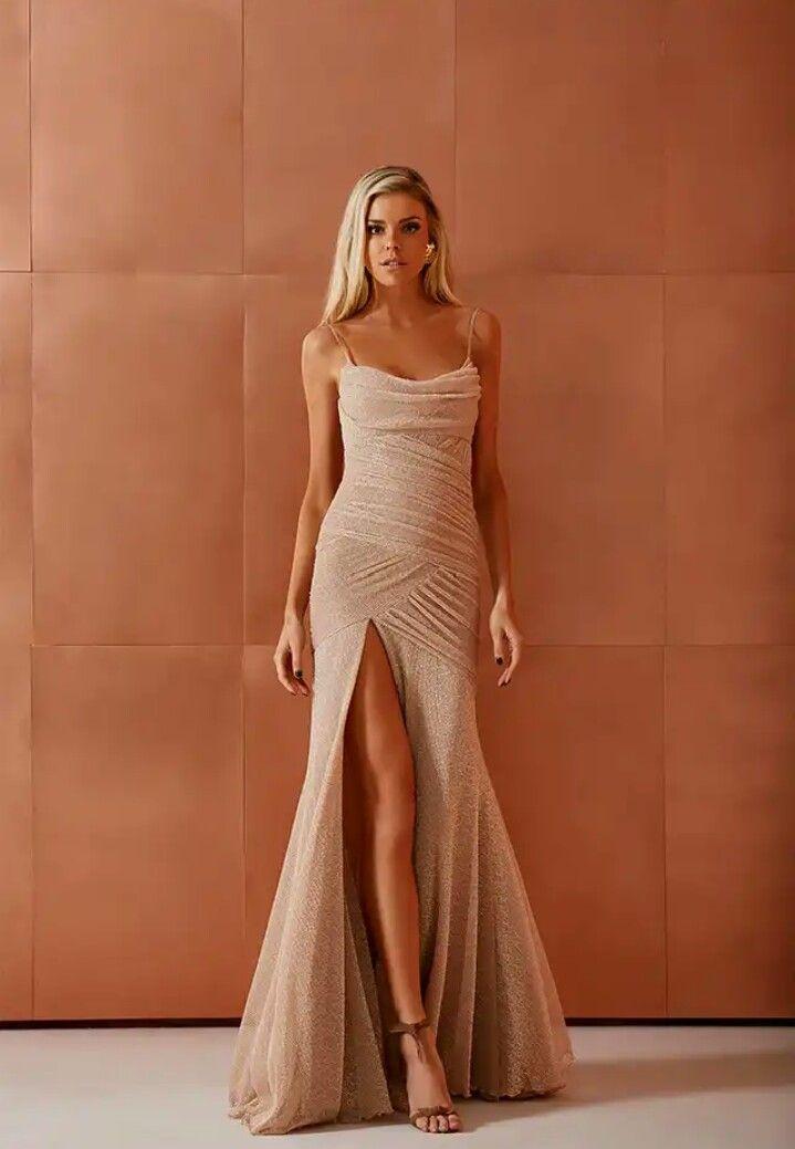 a3f17fa5e Vestido longo- Fabulous Agilità Vestido De Festa Longo