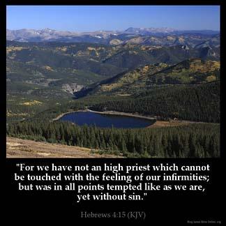 Inspirational Image for Hebrews 4:15