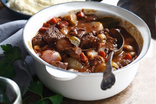 This classic traditional beef daube makes a warming winter meal.