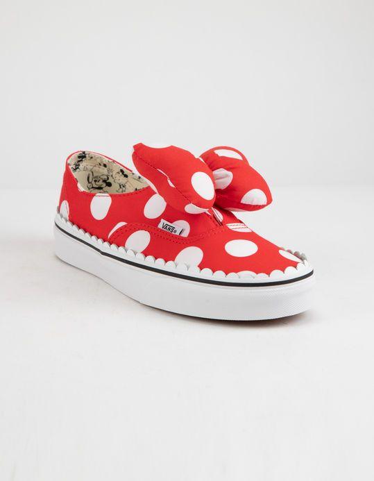 f1f87b71ded15d DISNEY x Vans Minnie s Bow Authentic Gore Womens Shoes