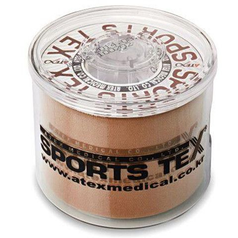 SPORTS TEX KINESIOLOGY TAPE WITH ECO-CASE(RE-USABLE DISPENSER CASE)