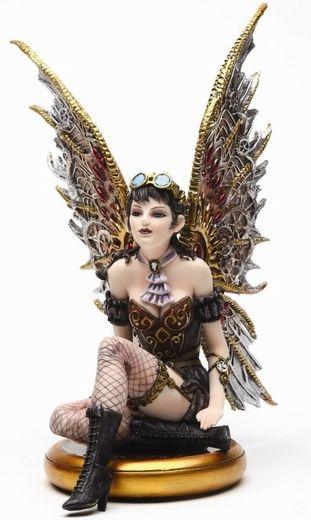 Tabitha Steampunk Fairy Figurine - Future cosplay inspiration?