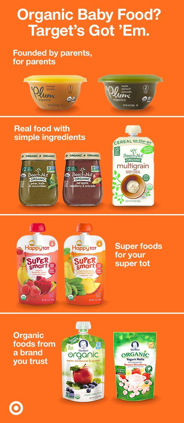 188 best target baby images on pinterest real food and simple ingredients thats what organic baby food is all about they forumfinder Images