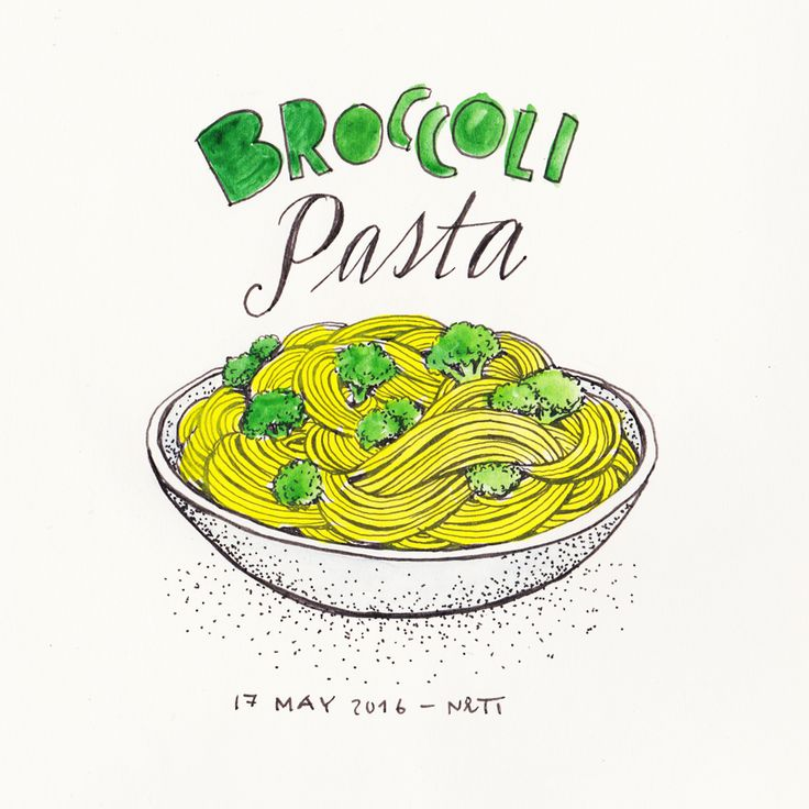 (Diary-Picture 358/365) 17 MAY – Yummy Broccoli Pasta