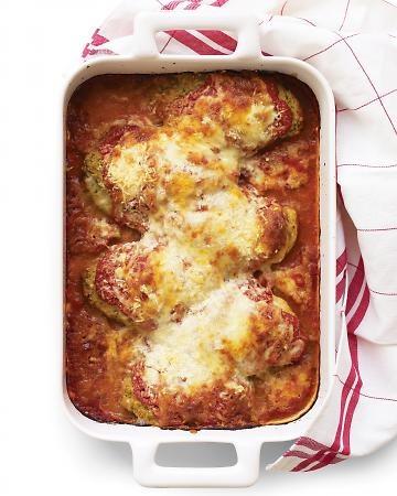 - Chicken Parmesan . . .Chicken Tenderloins, Whole Wheat Bread Crumbs, a
