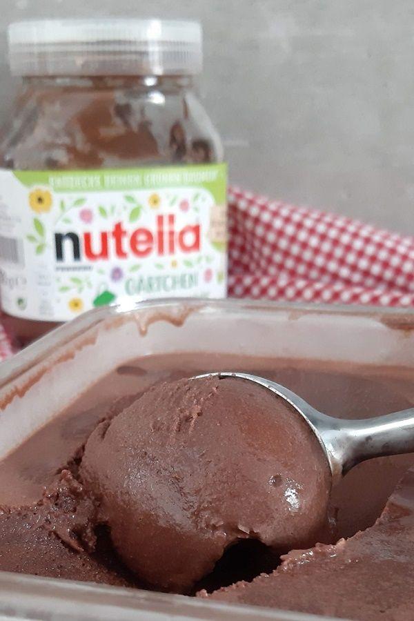 Machen Sie sich Nutella-Eis   – Rezepte